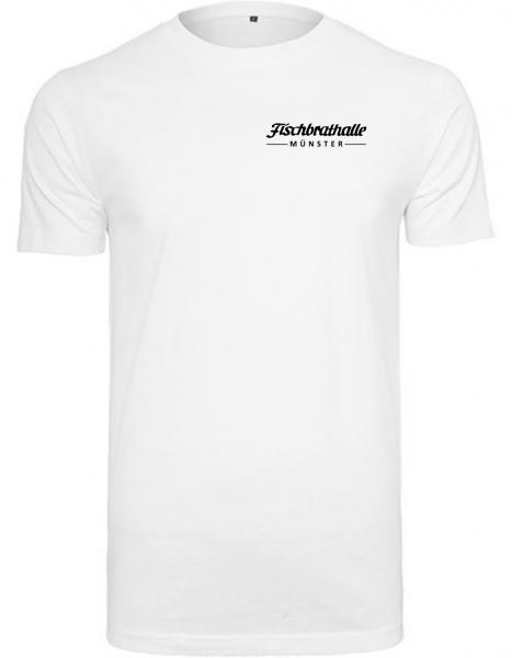 Fischbrathalle Classic T-Shirt weiß