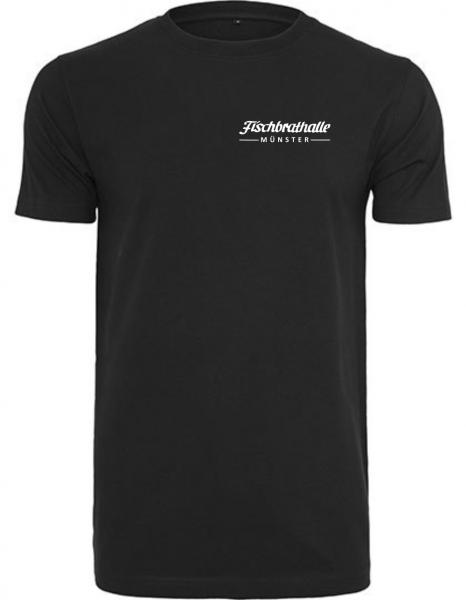 Fischbrathalle Classic T-Shirt schwarz